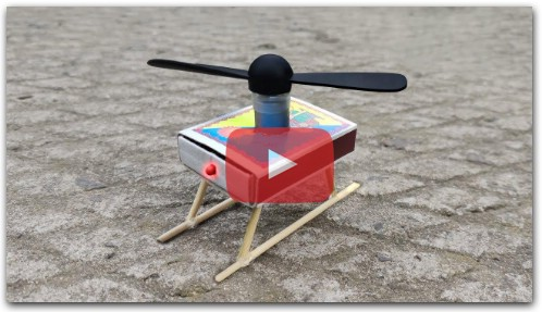 How To Make Helicopter Matchbox Helicopter Toy Diy Cool