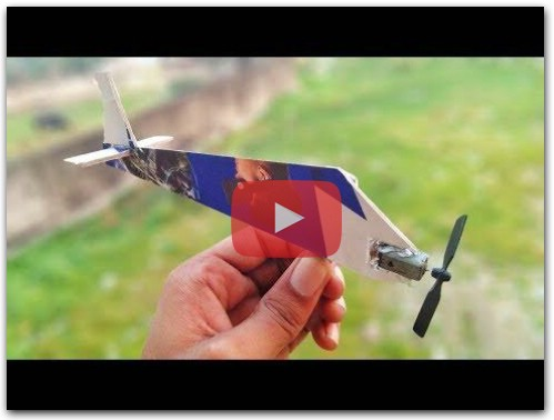 How to Make World Smallest Rc Plane