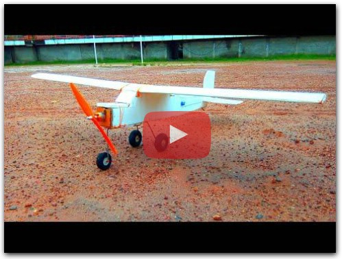 DIY How to make a Rc plane at home