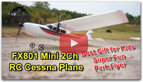 Best RC Plane for Kids Mini 2Ch RC Cessna 182