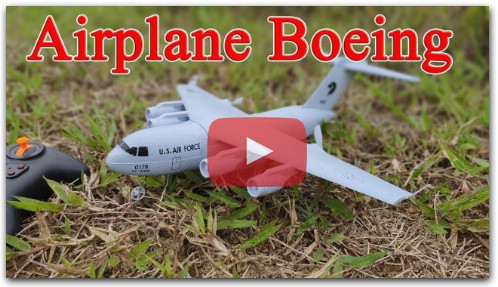 Build a Boeing Transport Aircraft RC with DIY Kit