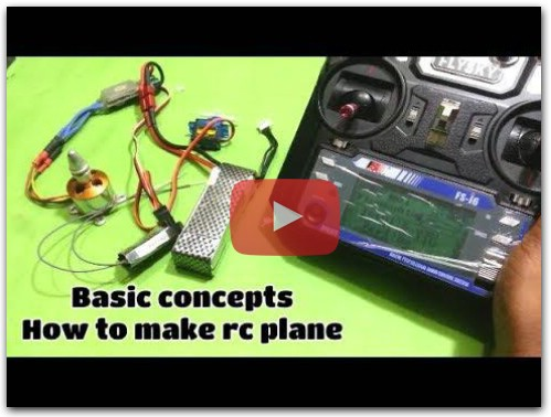 How to make rc plane basic concept
