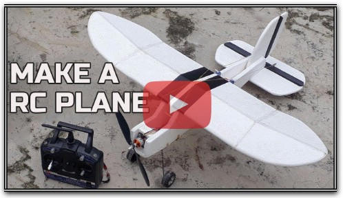 Build Remote Control Airplane At Home