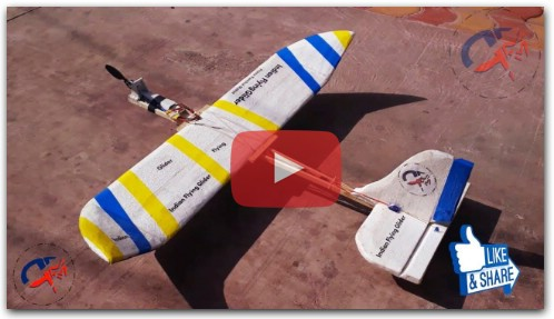 how to make a Rc plane glider