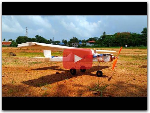 DIY How to make a Thermocol Rc plane