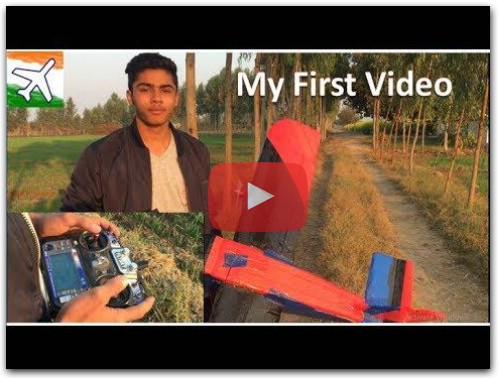 RC Plane made by 16 years old boy
