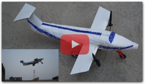 How To Make a Airplane - Flying RC Plane | WorldMan 3 Star
