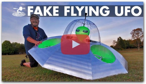 Faking a UFO Sighting