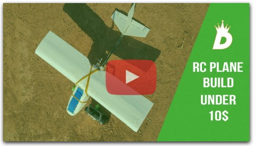 how to make RC plane from scratch | RC plane Building