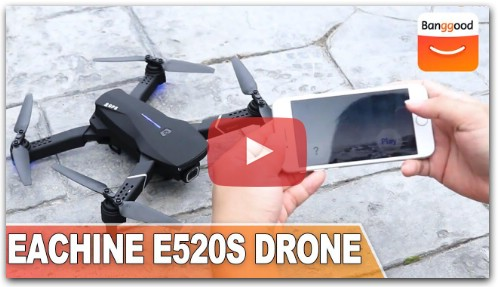 Eachine E520S RC Drone First Look
