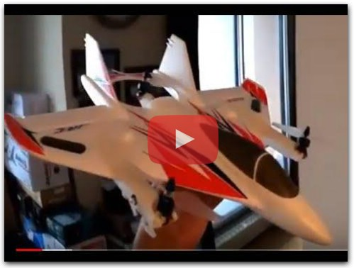 JJRC M02 BRUSHLESS VTOL RC AIRPLANE