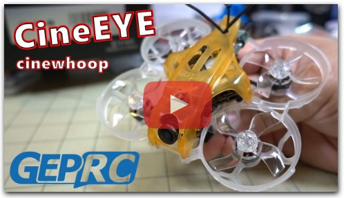 GEPRC CineEYE HD Micro Cinewhoop Review