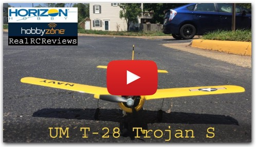 T-28 Trojan S BNF Basic w/ SAFE | Real RC Reviews | Maiden Flight
