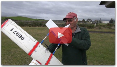 Ron`s new DIY RC Plane