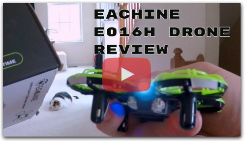 Review of Eachine E016H Mini Drone from Banggood com