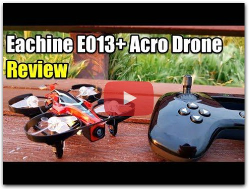 Eachine E013 Plus Acro Racing Drone Review