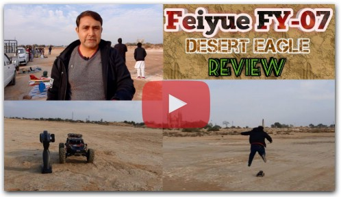 FEIYUE FY07 RC 4WD Desert Eagle Off Road Car Review