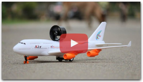 How to make a Aeroplane - DIY Toy Airplane