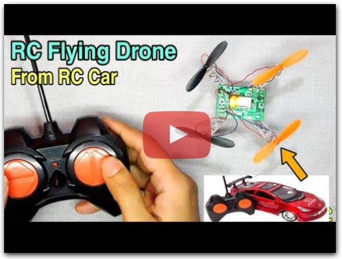 RC CAR TO RC DRONE