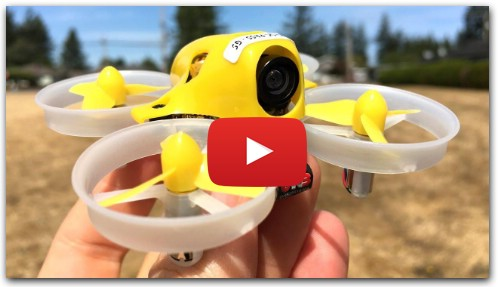 King Kong Tiny 6 Micro FPV Racing Drone Outdoor FPV Flight Review