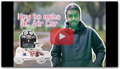 How to make a RC car - DIY RC car - Home made RC car