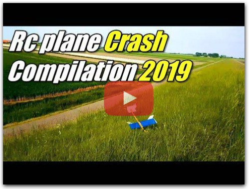 Rc Plane CRASH and FUN Compilation 2019