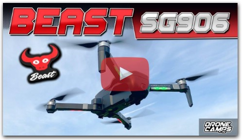 IT'S a BEAST! - ZLRC BEAST SG906 4K DRONE - REVIEW & FLIGHTS