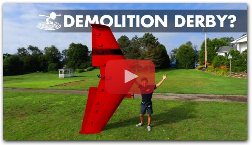 Airplane Demolition Derby!?