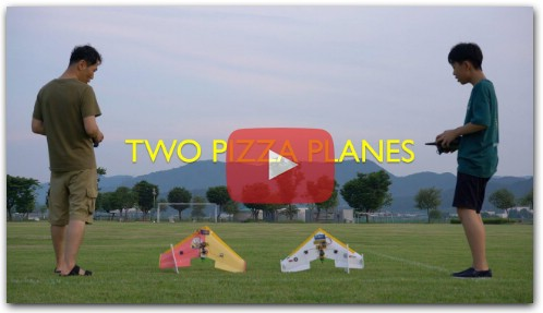 Flite Test PIZZA PLANE CRASH DIY RC airplane