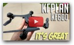 KFPLAN KF600 Optical Flow WIFI FPV Drone Review