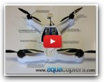 WATERPROOF FPV Quadcopter. The BullFrog, from Aquacopters.com