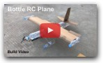 Flying Bottle RC Plane - Cardboard RC Airplane - DIY