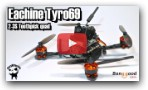 Eachine Tyro69. The build-it-yourself Toothpick quad. Supplied by Banggood