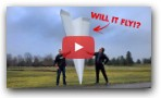 World`s Largest RC Paper Airplane?!