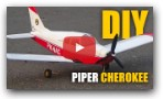 How to Make Piper Cherokee RC plane (DIY)