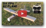 How To Make FPV RC Airplane - Twin Motors.