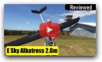 E Sky Albatross 2.6m electric glider RC plane