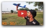 Hand Throwing Aeroplane Flying Test