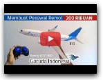 HOW TO MAKE RC PLANE Garuda Indonesia