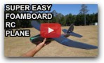 Super Easy Foamboard Trainer RC Plane!