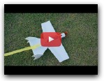 Flite Test Bloody Wonder 25m streamer Arrow RC airplane DIY