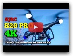 SJRC S20 PRO -BEST Low Cost Drone for BEGINNERS - 4K