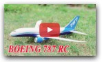 Build a Boeing 787 Aircraft RC 550mm Wingspan with KIT DIY