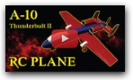 AWESOME A10 Thunderbolt RC PLANE! DIY