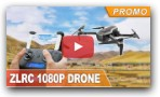 1080P Clear Camera RC Drone with GPS Following