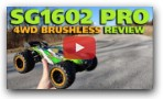 SG1602 Pro 4WD RTR Brushless Truggy Review