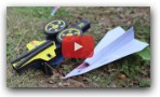 DIY:- Automatic Paper Plane Launche