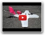 "NO ""RUDDER"" Eclipse 400 70mm EDF RC Park Jet MikeysRC"