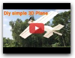 Scratch built 3D RC plane
