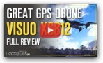 Visuo XS812 GPS/5mbpx Drone Under $90! - Review, Unboxing & Flight Test
